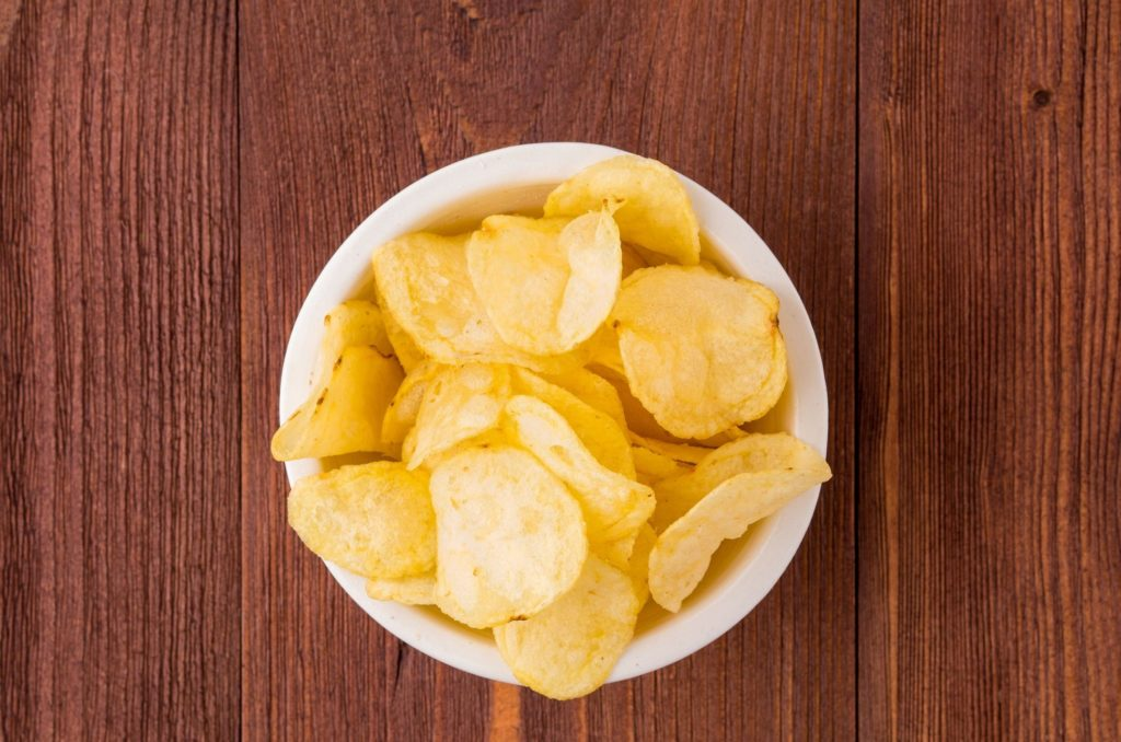 brown yellow chips